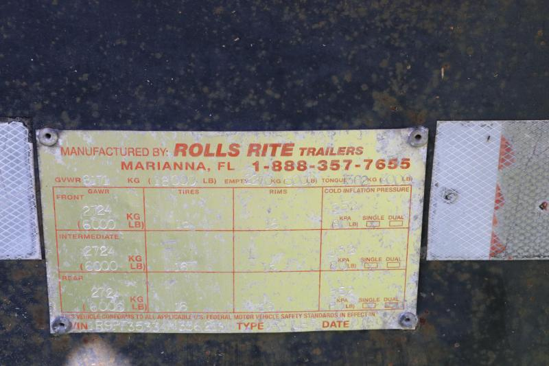7x33 Rolls Rite | Equipment Trailer