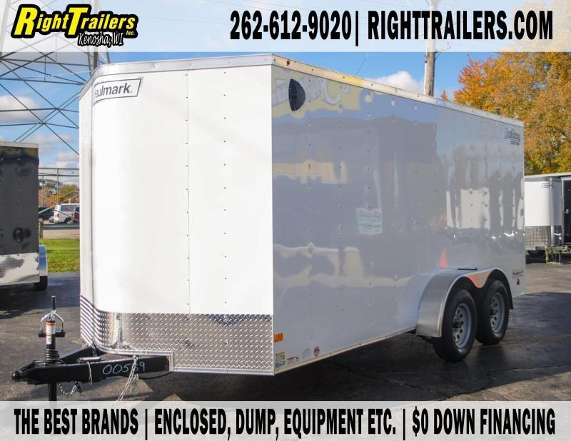 7X16 Haulmark I Enclosed Cargo Trailer