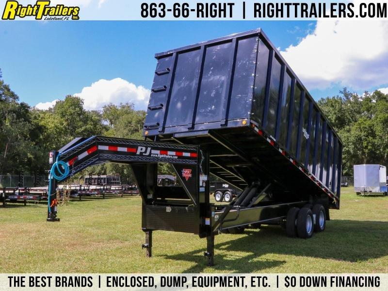 8x20x6 PJ Trailers | Deck Over Dump Trailer