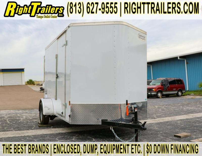 6x10 Continental Cargo | Enclosed Trailer