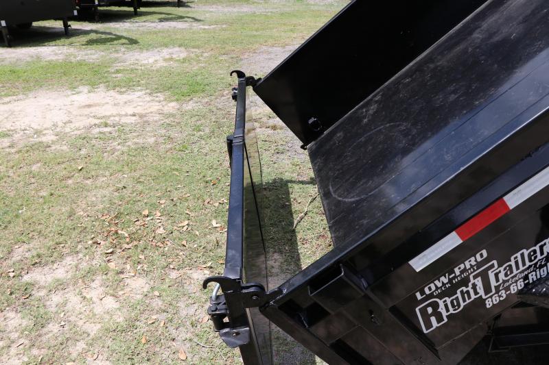 7x14 PJ Trailers | Gooseneck Dump Trailer
