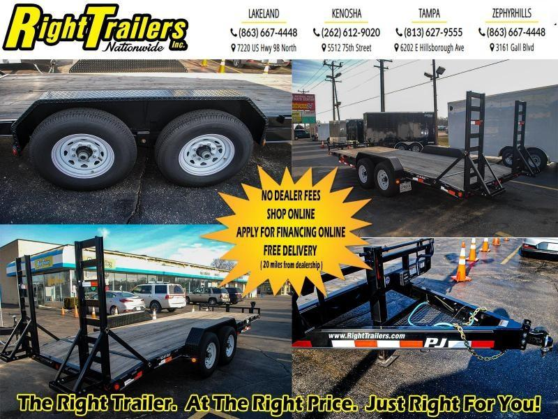 7x20 PJ Trailers| Equipment Trailer