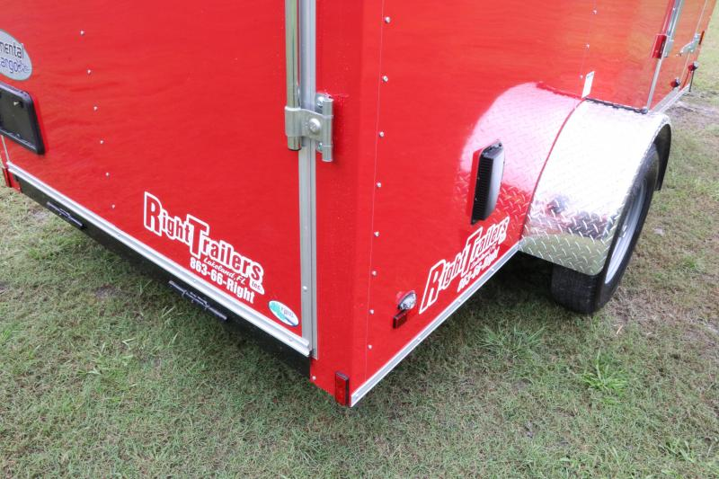 6x12 Continental Cargo | Enclosed Trailer