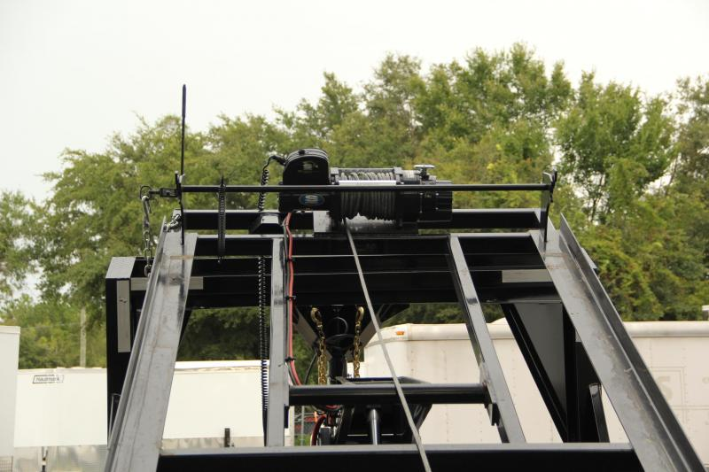 7x14x4 PJ Trailers | Roll Off Dump Trailer [Gooseneck]
