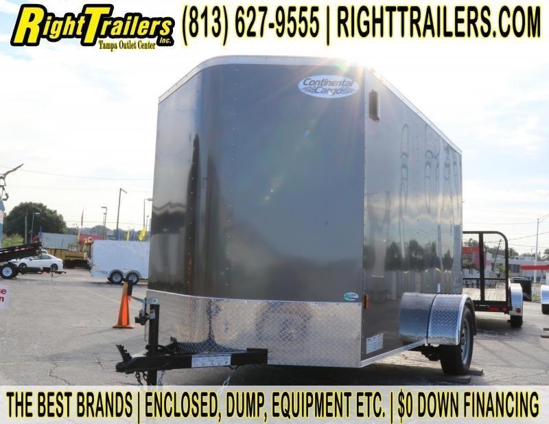 6x10x6'3'' Continental Cargo | Enclosed Cargo Trailer