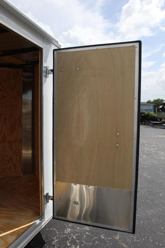 6x12 Red Hot Trailers   Enclosed Trailer