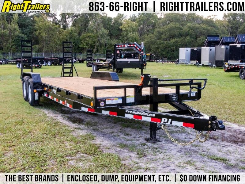 7X24 PJ Trailers I Equipment Trailer