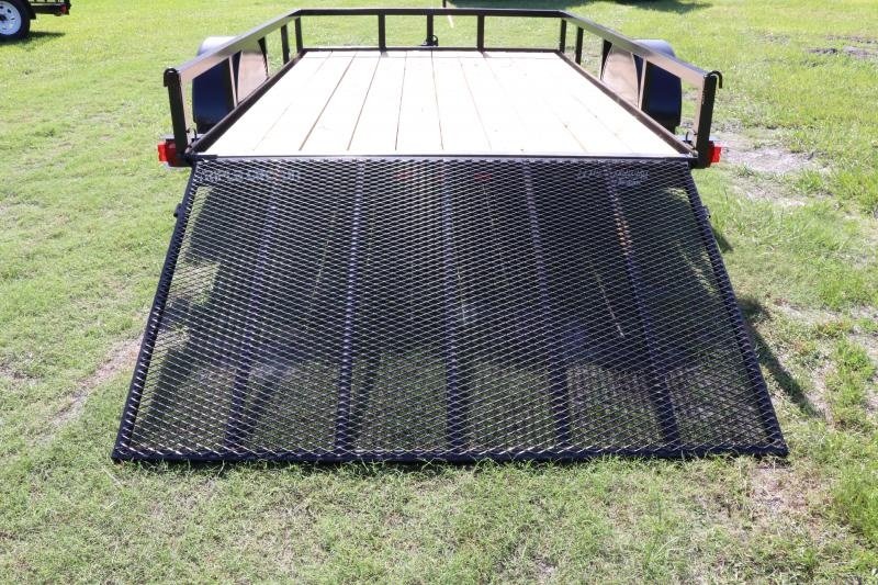 6x10 Red Hot Trailers   Utility Trailer
