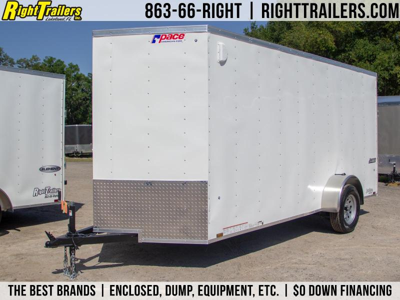 6x14 Pace American   Enclosed Trailer