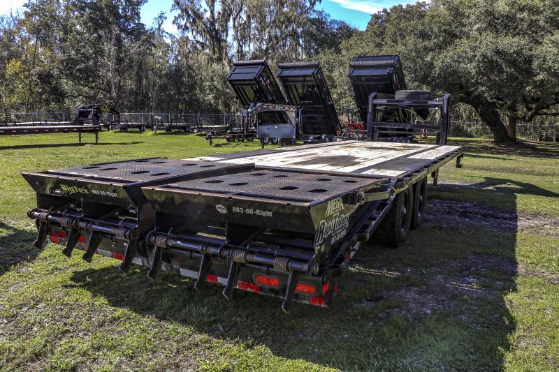 8.5x25 Big Tex Trailers   Equipment Trailer [14GN]