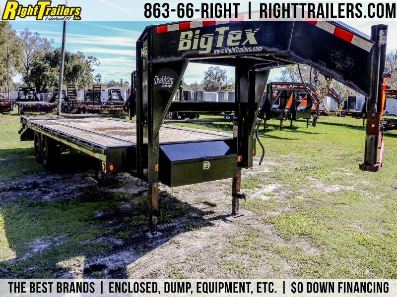 8.5x25 Big Tex Trailers | Equipment Trailer [14GN]