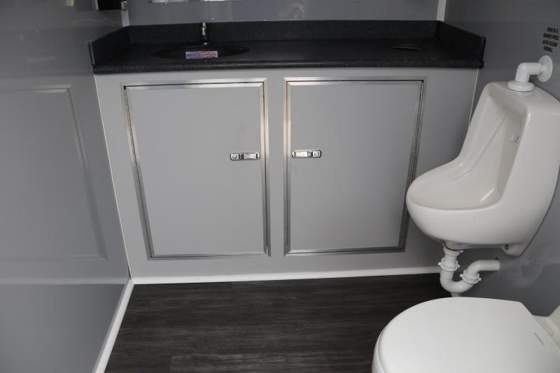 Restroom Trailer | Forest River | 3 Bathroom Stalls