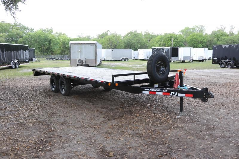7X20 PJ Trailers I Deck over Equipment Trailer