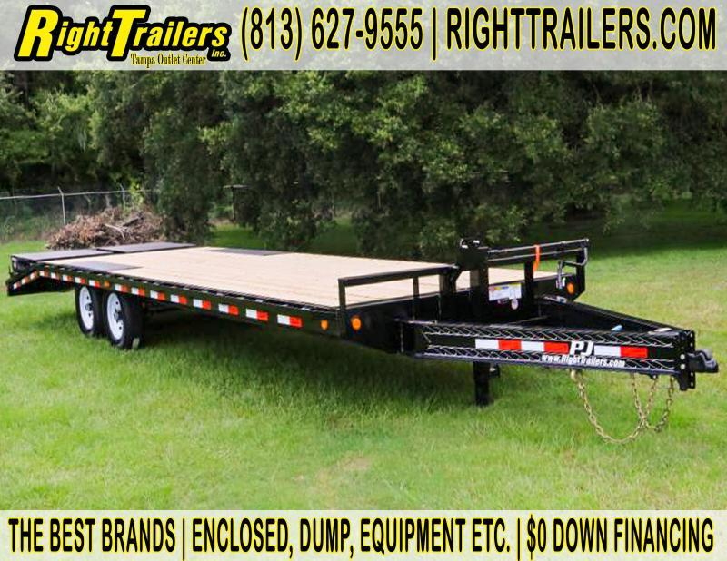 8x26 PJ Trailers | Equipment Trailer