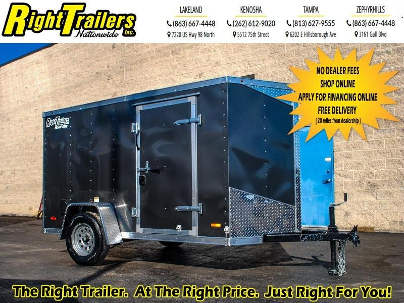 2020 RC Trailers 5 x 10 3K Enclosed Cargo Trailer
