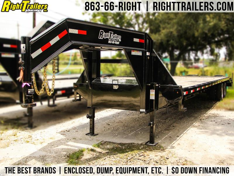 8.5x36 Lamar Trailers | Equipment Trailer Gooseneck