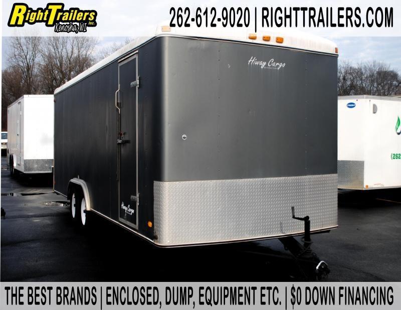 8.5x22 Hiway Cargo | Enclosed Trailer