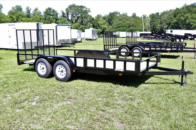 7x16 Red Hot Trailers   ATV Utility Trailer
