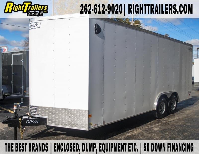 8.5x20 Haulmark i Enclosed Cargo Trailer