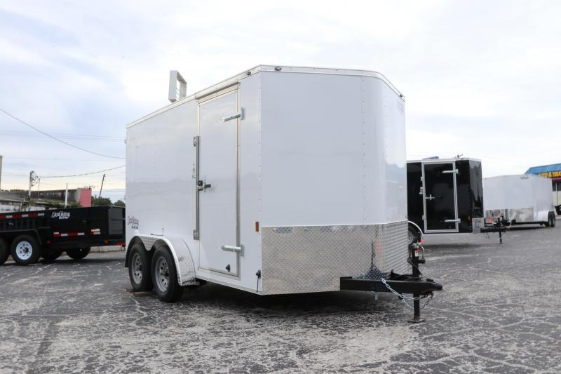 7x12 Continental Cargo | Enclosed Trailer