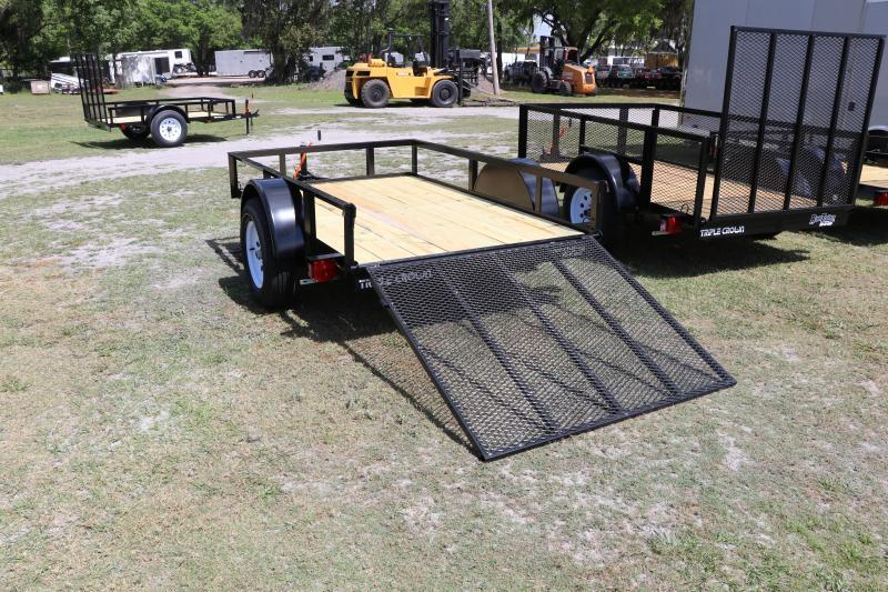 5x8 Red Hot Utility Trailer