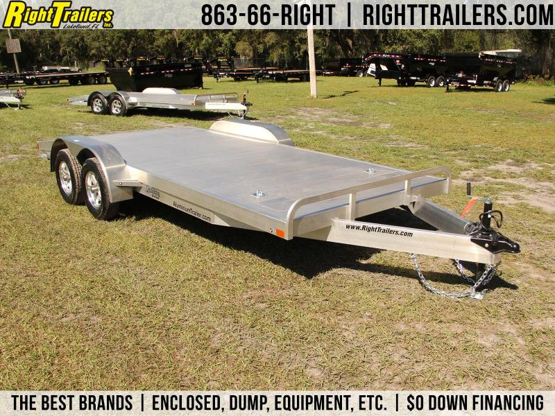 7x18 ATC Racing Trailers | Open Race Car Hauler