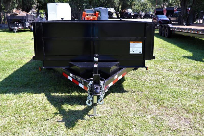 7x14 Carry-On | 7 TON Dump Trailer