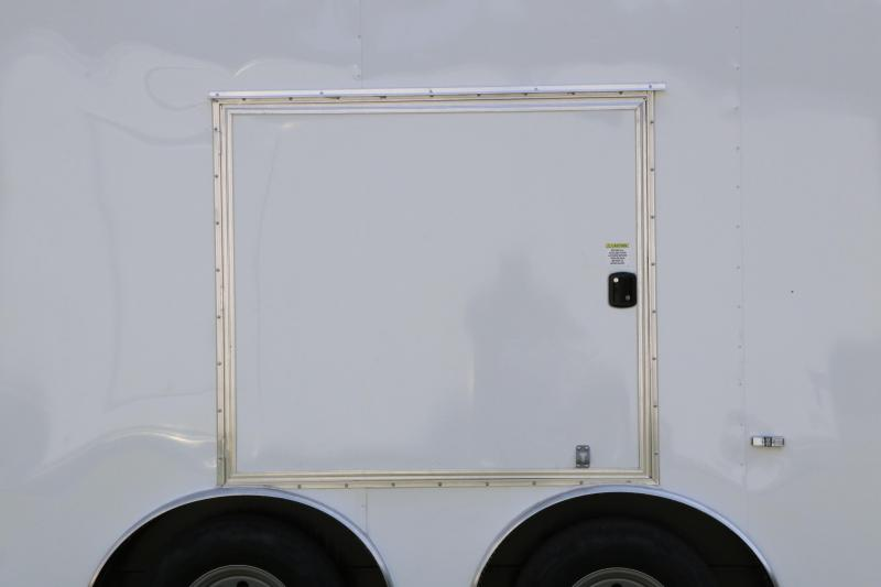 8.5 X 28 Anvil   Car / Racing Enclosed Trailer
