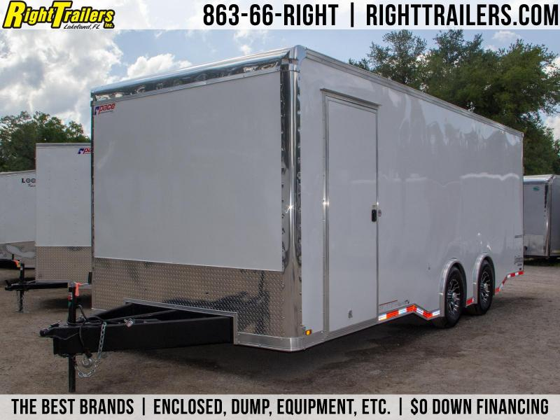 8.5x22 Pace American   Enclosed Trailer