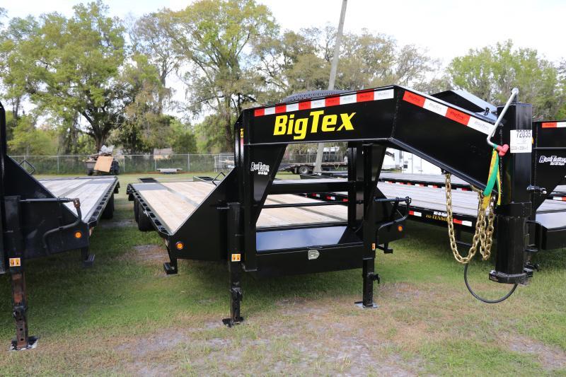 8.5 x 30 Big Tex Gooseneck Trailer