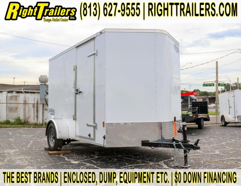 6x10 Continental Cargo | Enclosed Trailer