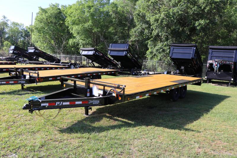 8.5X24 PJ Trailers DECKOVER Equipment Trailer