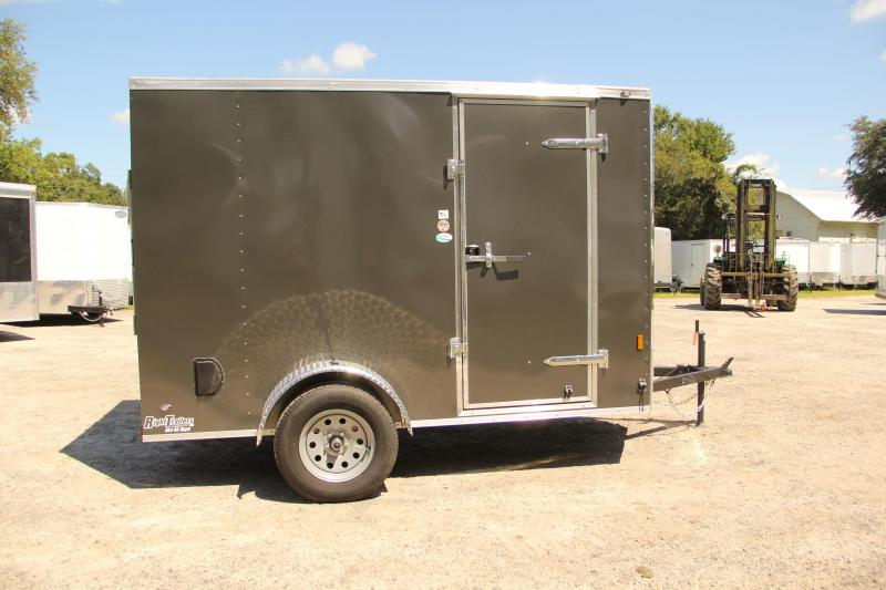 6x10 Continental Cargo | Enclosed Trailer [Charcoal Gray]