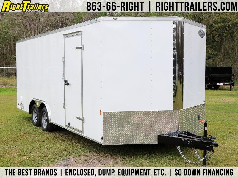 8.5X20 Continental Cargo I Enclosed Cargo Trailer