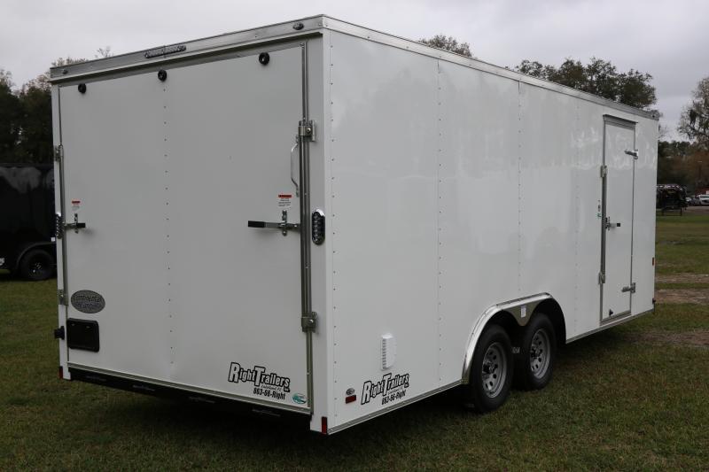 8.5X20 Continental Cargo I Enclosed Cargo Trailer