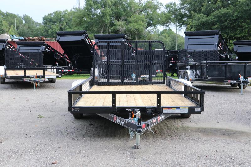 7 x 14 PJ Trailers   ATV Utility Trailer
