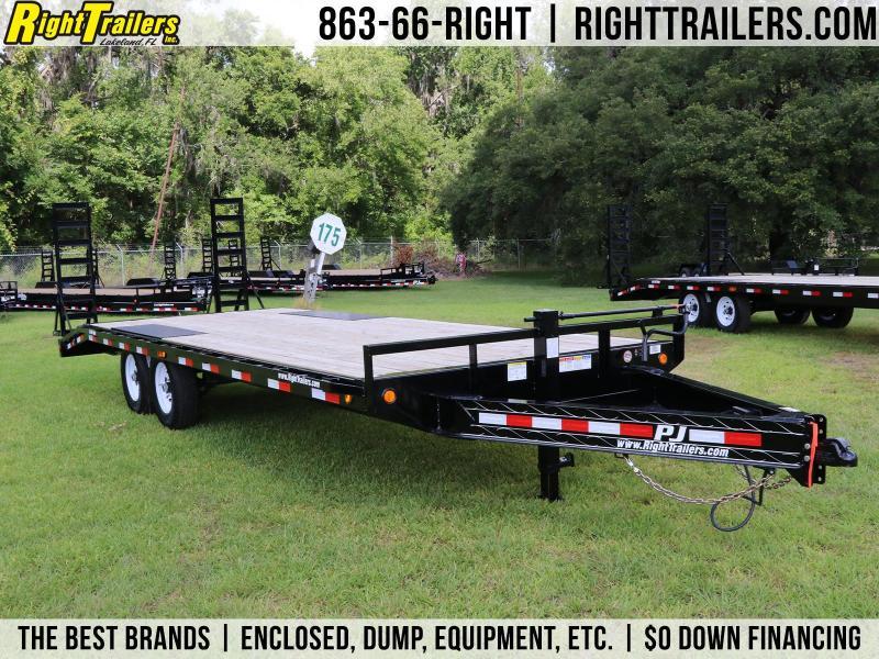 8.5x22 PJ   Deck Over Equipment Trailer
