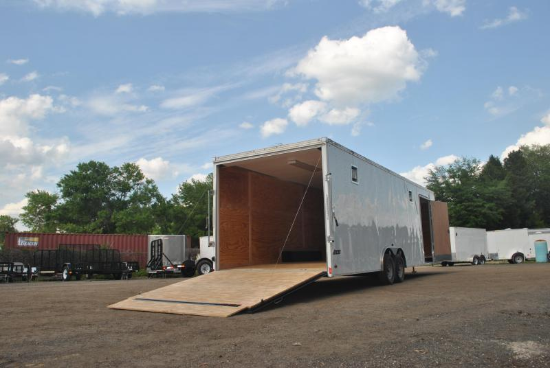 8.5x28 Pace American | Car Hauler/Race Car Trailer