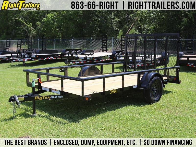 6x12 Big Tex   Utility Trailer