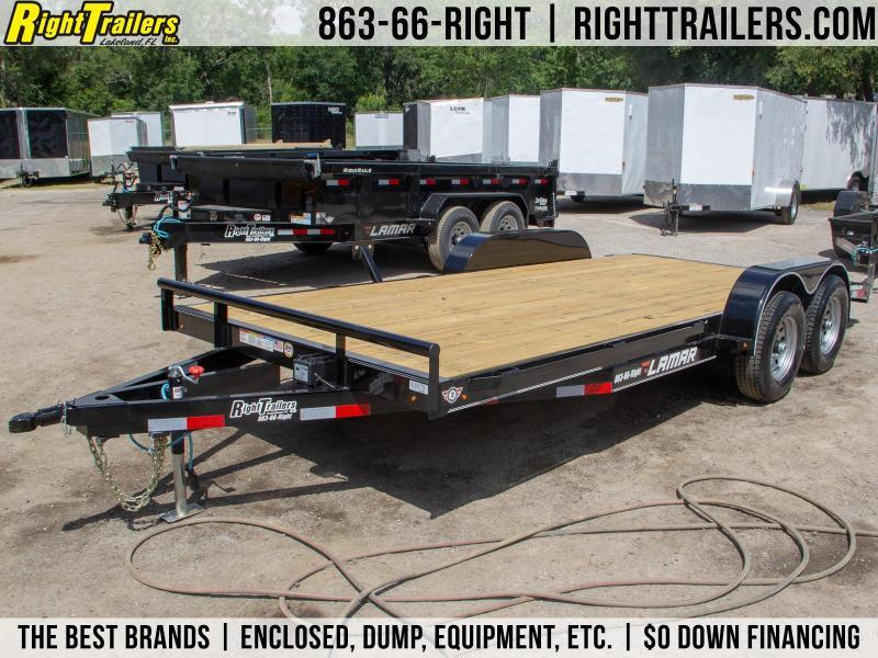 7x18 Lamar Trailers | Open Car Hauler