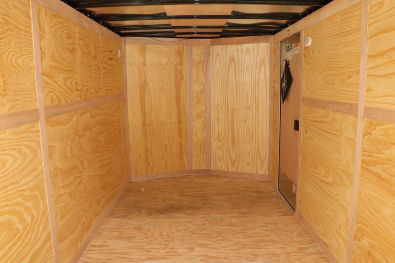 7x16 Continental Cargo   Enclosed Trailer