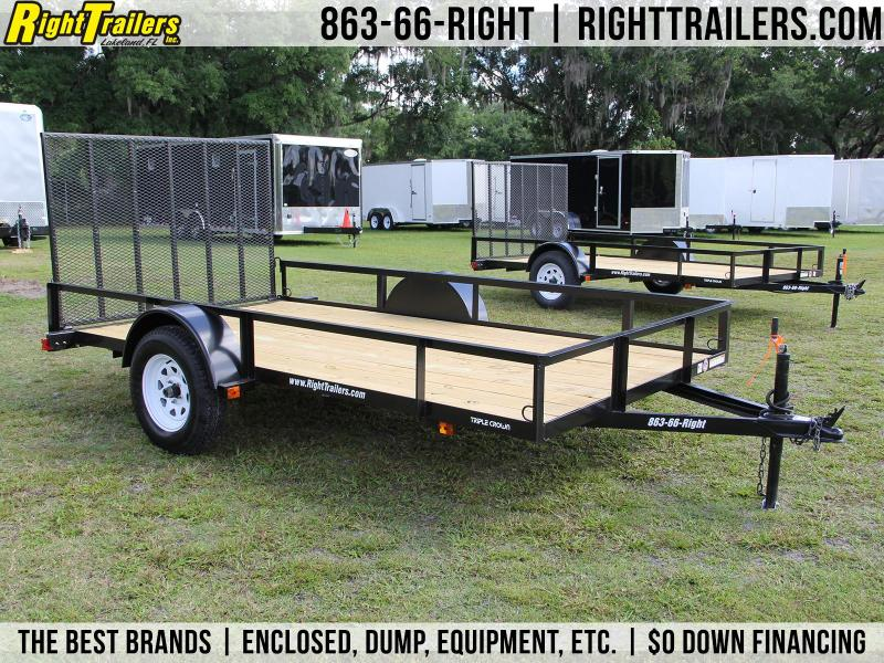 6x12 Red Hot | Utility Trailer