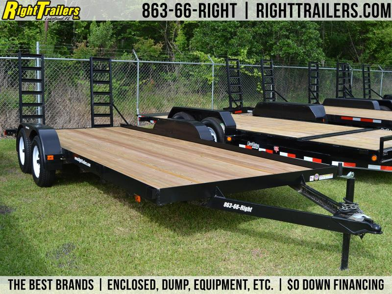 7x18 Triple Crown Trailers | Open Car Hauler Trailer