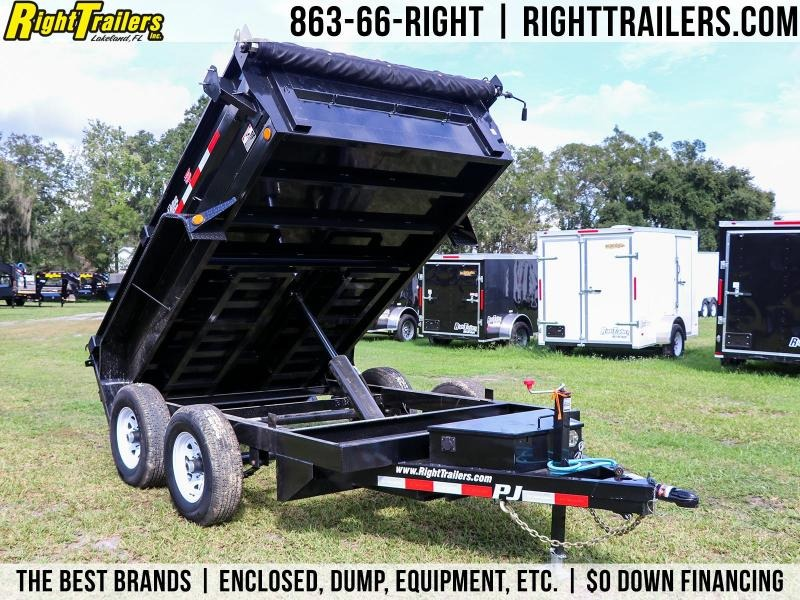 6x10 PJ Trailers | Dump Trailer With 9899 GVWR