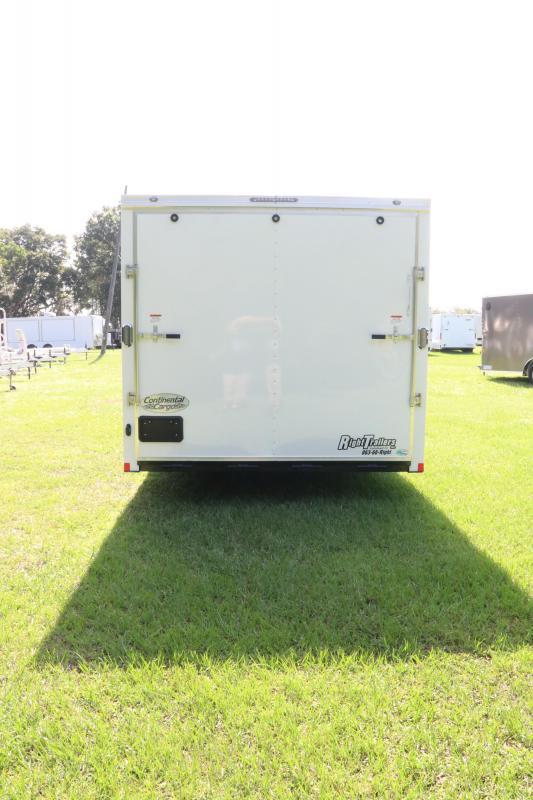 8.5x24 Continental Cargo   Enclosed Cargo Trailer