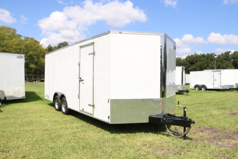8.5x20 Continental Cargo | Enclosed Trailer