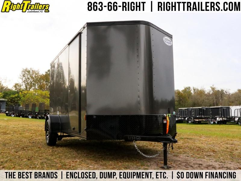 6x12 Continental Cargo | Enclosed Trailer ( With Black Out Kit )