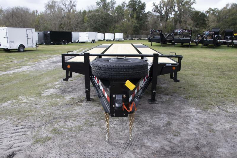 8.5X28 PJ Trailers Low-Pro with Duals I Flatbed Trailer