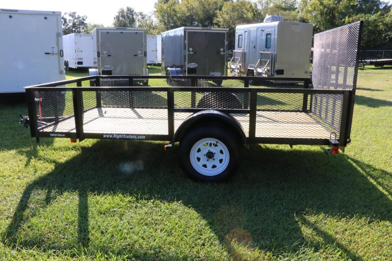6X12 Red Hot Trailers I Utility Trailer