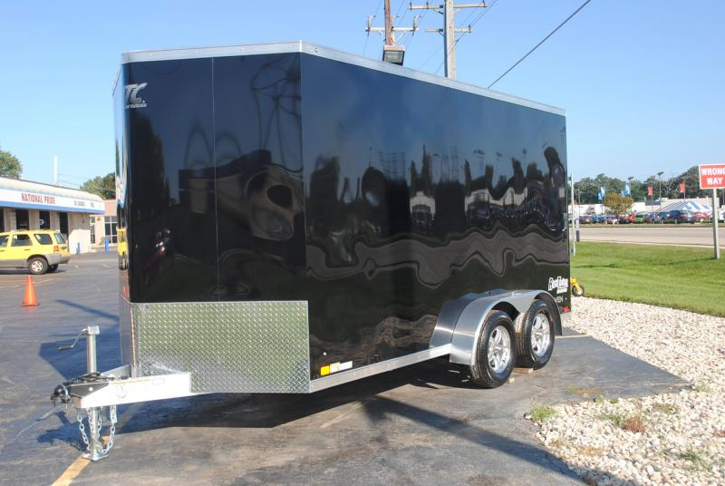 7x14 ATC Raven | Enclosed Trailer [Black]